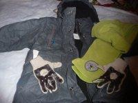 manteau miniman + accesoires 4 ans : 20 euros