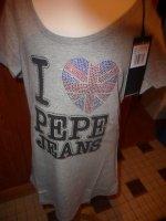 tee shirt PEPE JEANS neuf 30 euros dispo en S, M ou L
