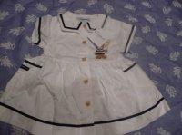 robe blanche 12 mois CLAYEUX 15 euros