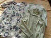 robe 6 ans lili gaufrettes + sous pull 8 ans lili gaufrettes  + gilet  6 anskids grafittit