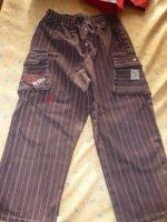 vue du pantalon marque berlingot 3 ans