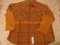 chemise timberland 4 ans
