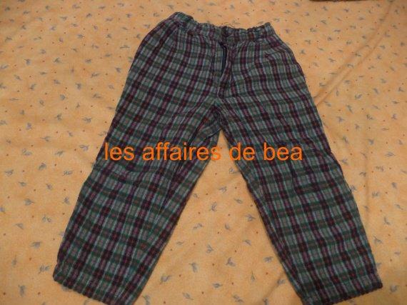 pantalon ecossais 1 euros