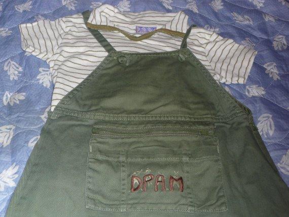 6 ans dpam robe + polo 4 euros