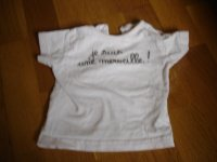 t-shirt grain de blé 6 mois 2.5e