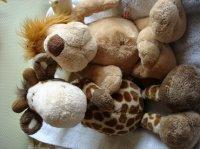 rgandes peluches toutes douces 3e pièce (girafe vendue)