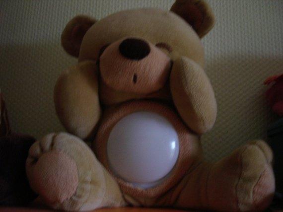 veilleuse ourson babynat 10E