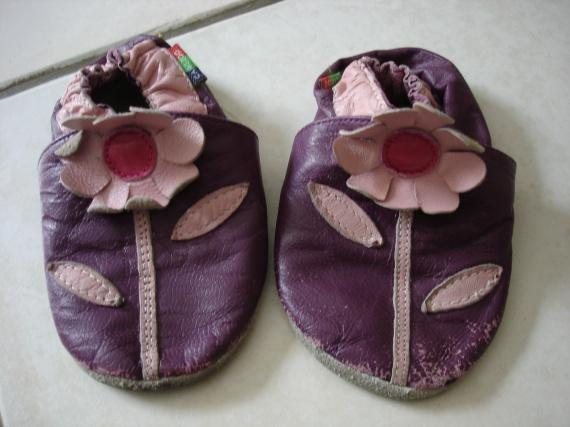 chaussons cuir souples 3e