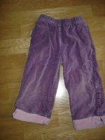 pantalon velours ras vert baudet 3e