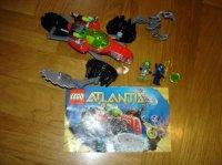 lego atlantis 8059  12e (complet +notice sans boite)