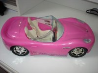 "voiture ""barbie"" marque jessica je crois 6e"