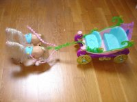 carrosse calèche barbie 15e
