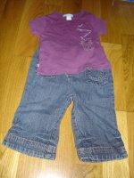 jean et t-shirt obaibi 4e