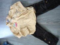 pantalon taille réglable velours zara et tunique cie des petits 5e