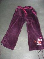 pantalon minnie velours ras 3 ans 3e