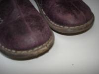 devant des bottes