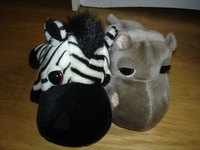 hippo et zebre 2e chaque