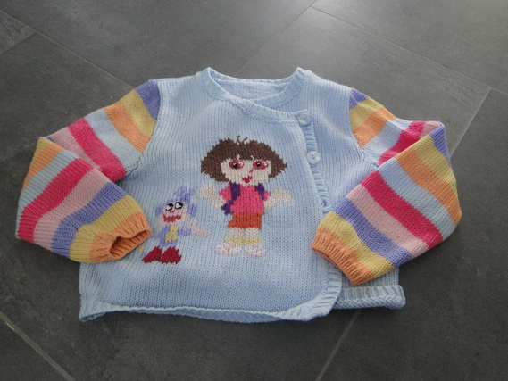 gilet tricoté dora 3E