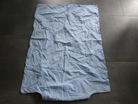 housse couette bleu 3e (lit barreaux)