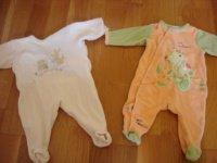 pyjama 3 mois (petit bateau jaune vendu) et kimbaloo neuf droite) 3e pièce ou 5e les 2