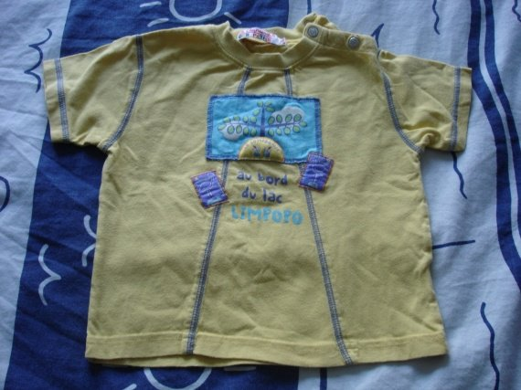 t-shirt cie des petits 1€