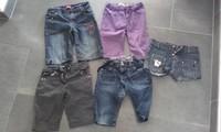 pantalons coupés en bermudas 10 ans 4e le lot