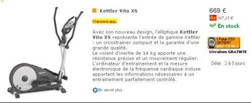 KETTLER Vito