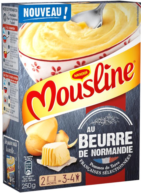 Mousline beurre de Normandie