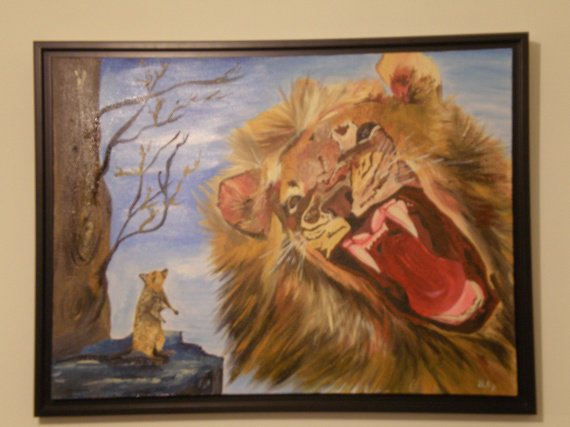 le lion et le rat 022