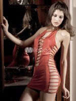 Sexy-Red-Arcylic-Spandex-Halter-Club-Dress-80621-2