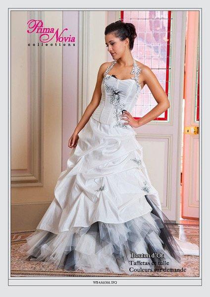 Robe de mariee pour ronde couleur