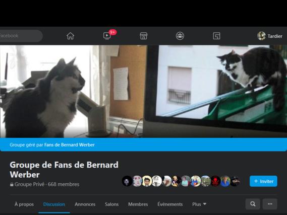 Groupe de Fans de Bernard WERBER