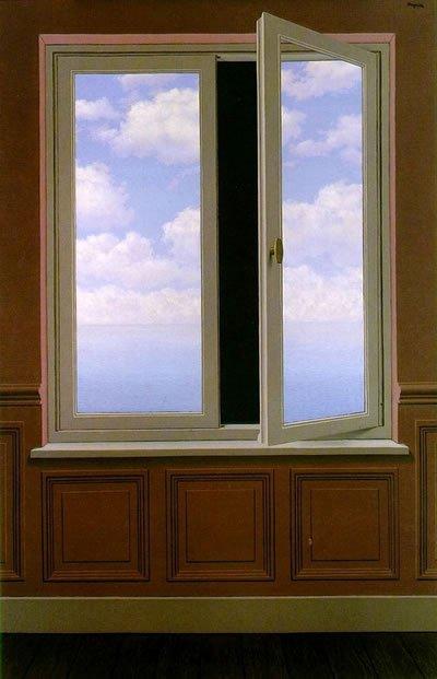 Magritte fen tre surr alisme secret windoww photos for Fenetre secrete