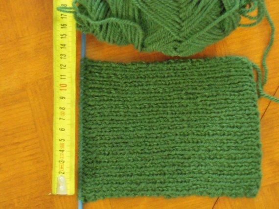 Mon deuxième tricot