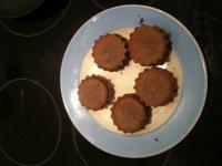 Muffins portugais aux haricots noirs