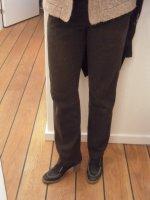 Pantalon marron-a