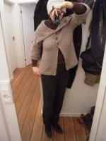 Pantalon marron-b