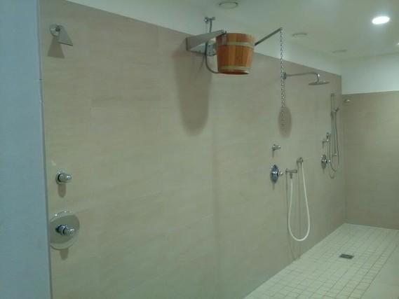 Choix de douches pour se rafraîchir