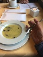Soupe de pommes de terre aux épices