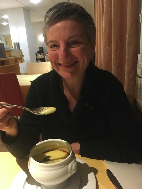 Delicieuse soupe blanche du soir