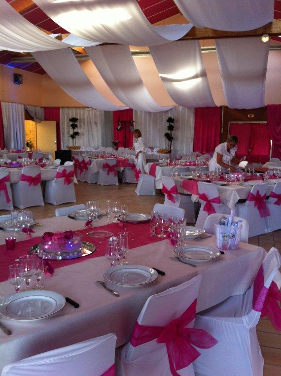 mariage- deco salle mariage fushia- decorations mariages » decors de ...