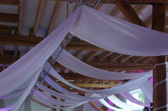 tentures mariage tenture plafond mariage - Tenture Plafond Mariage