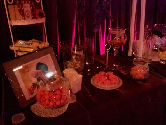 Decor theme gourmandise theme soir e soir es - Decoration theme gourmandise ...