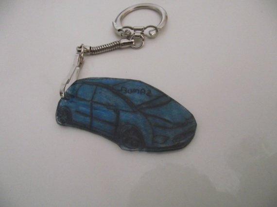porte clé voiture