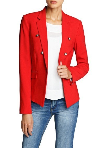 veste rouge