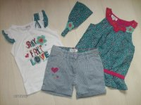 TS MC, BLOUSE 5 ANS, SHORT 4 ANS & FICHU *LOVE BAROUD*
