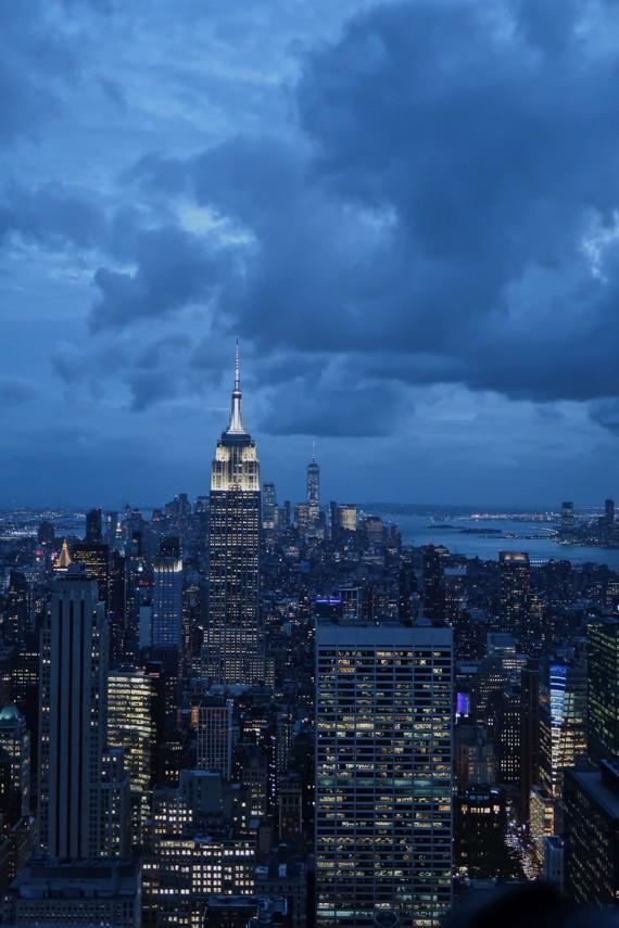 L'Empire State Building droit devant