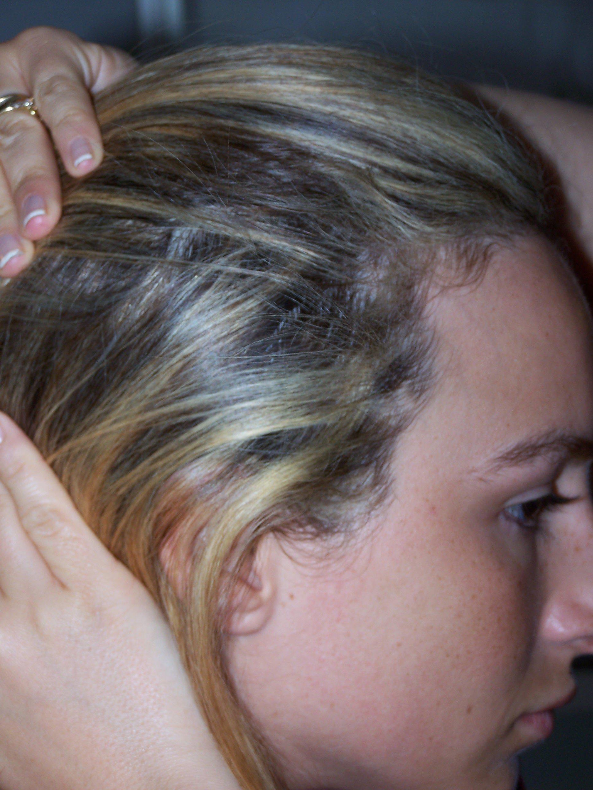 Balayage cheveux rate