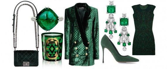 tendance couleur vert emeraude 2013