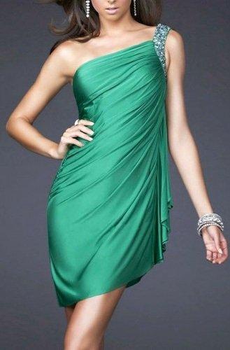 Robe satin vert emeraude vert emeraude couleur 2013 - Vert emeraude avec quelle couleur ...